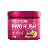 PWO Rush, 218 g, Strawberry Champagne, Star Nutrition