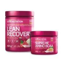 Lean Recovery, 420g + Supreme Amino BCAA, 200g, Star Nutrition