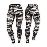Commando Leggings, Gray/Mixed, M, Anarchy