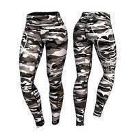 Commando Leggings, Gray/Mixed, S, Anarchy