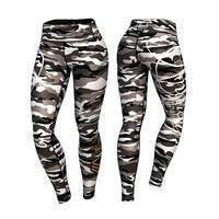 Commando Leggings, Gray/Mixed, XL, Anarchy