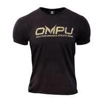 OMPU Logo Tee, Vintage Black, L, OMPU Wear