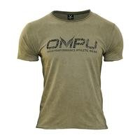OMPU Logo Tee, Vintage Olive, M, OMPU Wear