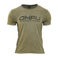 OMPU Logo Tee, Vintage Olive, L, OMPU Wear