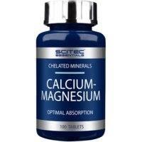 Calcium-Magnesium, 100 tablets, Scitec Nutrition