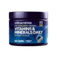 Vitamins & Minerals Daily, 60 caps, Star Nutrition