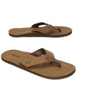Reef Leather Smoothy Sandals ruskea