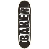 Baker brand logo black white 8.0 skate deck kuviotu, baker
