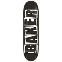 Baker brand logo black white 8.25 skate deck kuviotu, baker