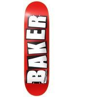 Baker brand logo white 8.125 skate deck kuviotu, baker