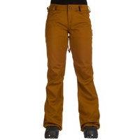 Volcom species stretch pants ruskea, volcom