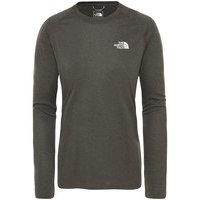 THE NORTH FACE Reaxion Amp Crew Tech Tee LS musta