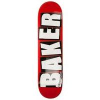 Baker brand logo white 8.0 skate deck kuviotu, baker