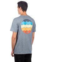 Reef waters t-shirt harmaa, reef