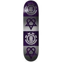 Element Bam Heartagram Quad 8.0 Skateboard Deck kuviotu