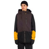Volcom bl stretch gore-tex jacket musta, volcom