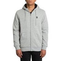 Volcom single stone lined hoodie harmaa, volcom