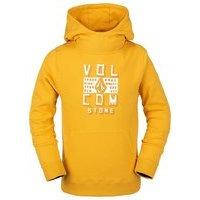 Volcom hotlapper hoodie keltainen, volcom
