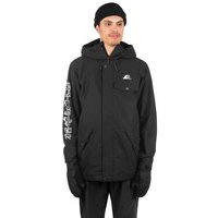 Quiksilver In The Hood Jacket musta