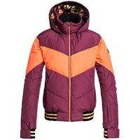 Roxy torah bright summit jacket punainen, roxy