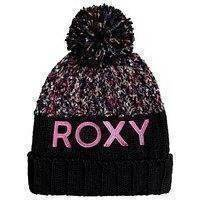 Roxy alyeska beanie musta, roxy