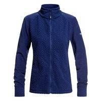 Roxy surface zip through fleece jacket sininen, roxy