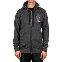 Nitro icon zip hoodie musta, nitro