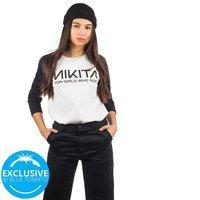 Nikita Wild Long Sleeve T-Shirt valkoinen
