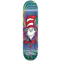 Almost x dr seuss zoom cat 8.375 skateboard dec sininen, almost