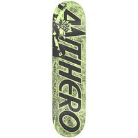 Antihero highlander hero 8.06 skateboard deck kuviotu, antihero