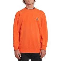 Volcom notrama crew sweater oranssi, volcom