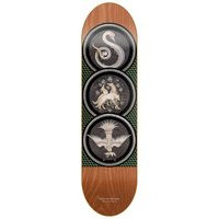 Antiz heretic animals hirsch 8.25 skateboard deck kuviotu, antiz