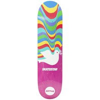 Almost skateistan r7 7.75 skateboard deck pinkki, almost