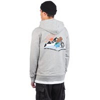 Blue tomato close friends zip hoodie harmaa, blue tomato