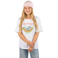 Blue tomato take it easy t-shirt valkoinen, blue tomato