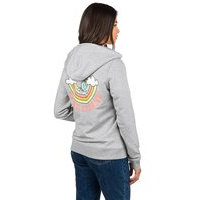 Blue tomato take it easy zip hoodie harmaa, blue tomato