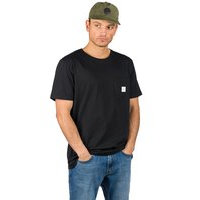 Makia square pocket t-shirt musta, makia