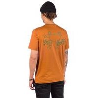 Blue tomato bad break t-shirt oranssi, blue tomato