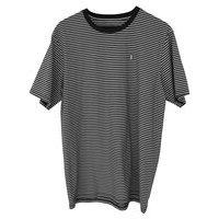 Baker capital b striped t-shirt ruskea, baker
