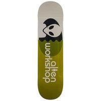 Alien workshop egg green 8.125 skateboard deck vihreä, alien workshop