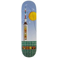 Alien workshop guevara flight path 8.25 skateboard deck kuviotu, alien workshop
