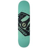 Alien workshop og burst 8.0 skateboard deck kuviotu, alien workshop