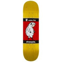 Alien workshop wake the sheeple 8.5 skateboard deck kuviotu, alien workshop