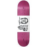 Baker t-funk leopard 8.125 skateboard deck kuviotu, baker