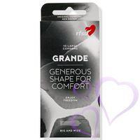 Grande kondomi / 10 kpl
