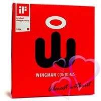 Wingman – Kondomi, 3kpl