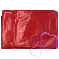 Punainen PVC-lakana
