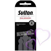 Sultan Salmiakki Kondomi 5 kpl
