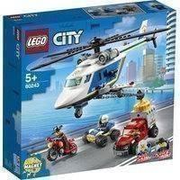 Lego City 60243 Takaa-ajo Poliisihelikopterilla