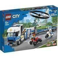 Lego City 60244 Poliisihelikopterin Kuljetus